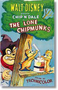 The Lone Chipmunks main cover