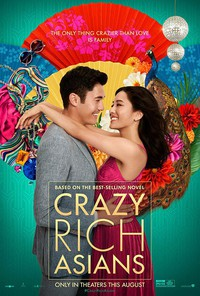 Crazy Rich Asians main cover