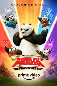 Kung Fu Panda: The Paws of Destiny movie cover