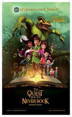 Peter Pan: The Quest for the Never Book movie cover