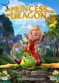 The Princess and the Dragon main cover