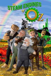 The Steam Engines of Oz main cover