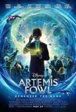 Artemis Fowl movie cover