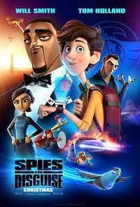 Spies in Disguise main cover