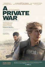 A Private War movie cover