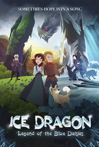 Ice Dragon: Legend of the Blue Daisies main cover