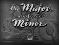 The Major and the Minor movie photo
