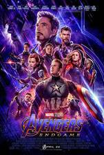 The Avengers: Endgame movie cover