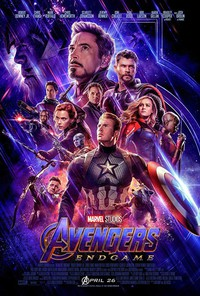 The Avengers: Endgame main cover