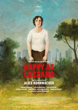 Happy as Lazzaro movie cover