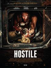 Hostile movie cover