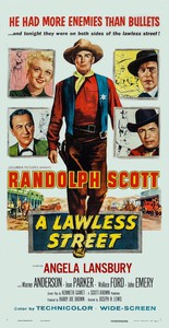 A Lawless Street main cover
