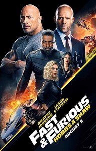 Fast & Furious Presents: Hobbs & Shaw main cover