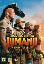 Jumanji: The Next Level movie cover