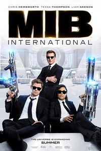 Men in Black: International main cover