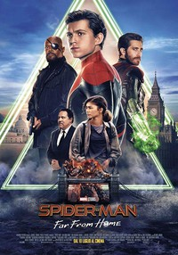 Spider-Man: Far from Home main cover