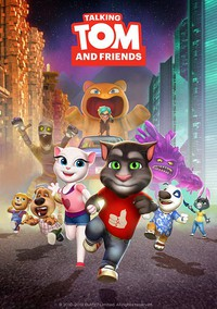 Talking Tom and Friends movie cover