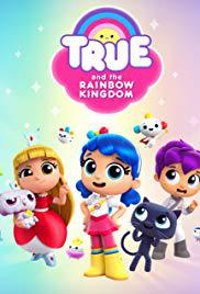 True and the Rainbow Kingdom movie cover
