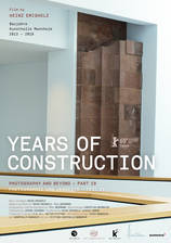 Years of Construction movie cover