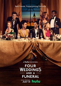 Four Weddings and a Funeral movie cover