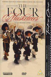 The Four Musketeers main cover