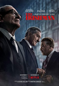 The Irishman main cover
