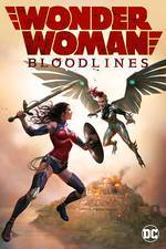 Wonder Woman: Bloodlines movie cover
