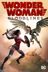 Wonder Woman: Bloodlines main cover