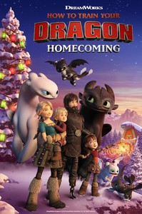 How to Train Your Dragon: Homecoming main cover