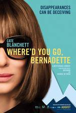 Where'd You Go, Bernadette movie cover