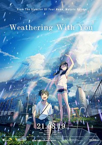 Weathering with You main cover
