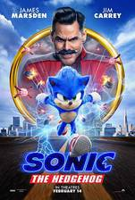 Sonic the Hedgehog movie cover