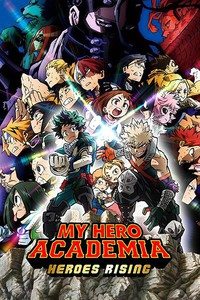 My Hero Academia the Movie: Heroes Rising main cover