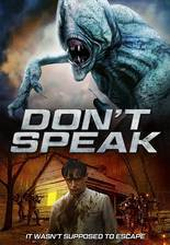 Silent Place: Don't Speak movie cover
