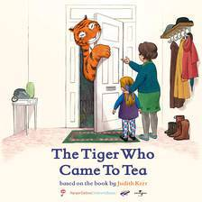 The Tiger Who Came to Tea movie cover