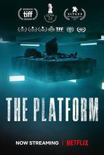 The Platform (El hoyo) movie cover