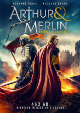 Arthur & Merlin: Knights of Camelot movie cover