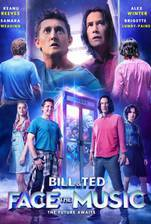 Bill & Ted Face the Music movie cover