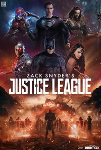 Zack Snyder's Justice League main cover