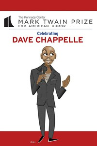 22nd Annual The Kennedy Center Mark Twain Prize for American Humor celebrating: Dave Chappelle main cover