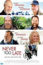 Never Too Late movie cover