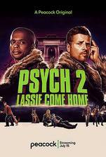 Psych 2: Lassie Come Home movie cover