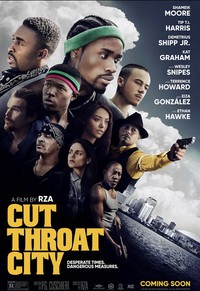 Cut Throat City main cover