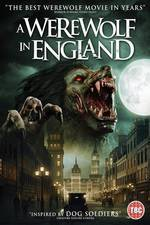 A Werewolf in England movie cover