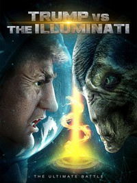 Trump vs the Illuminati main cover