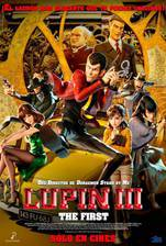 Lupin III: The First (Lupin the 3rd Snatch Treasure) movie cover