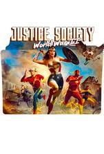 Justice Society: World War II movie cover