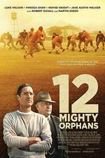 12 Mighty Orphans movie cover