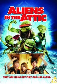 Aliens in the Attic main cover