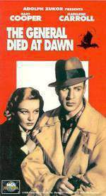 the_general_died_at_dawn movie cover